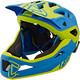 Leatt Brace DBX 3.0 Enduro Bike Helmet yellow/blue